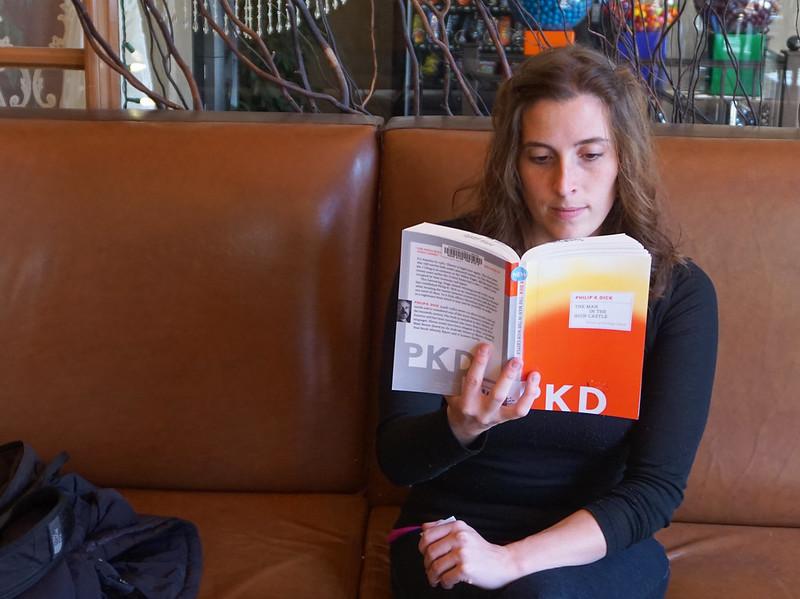 Gigi reading