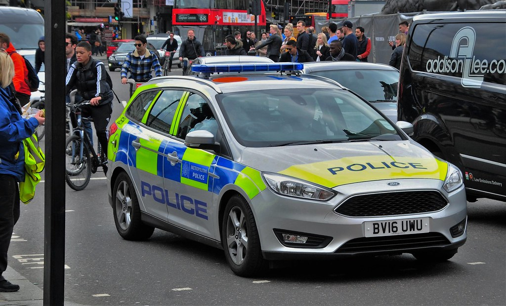 One Of The Latest 2016 London Metropolitan Police Ford Foc