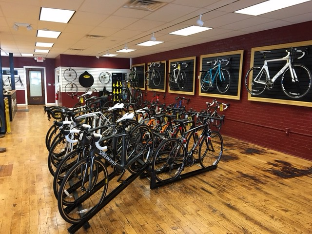 Pedal Power Middletown CT Road Room Upstairs
