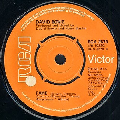 david bowie fame single 1975 quotfamequot by david bowie