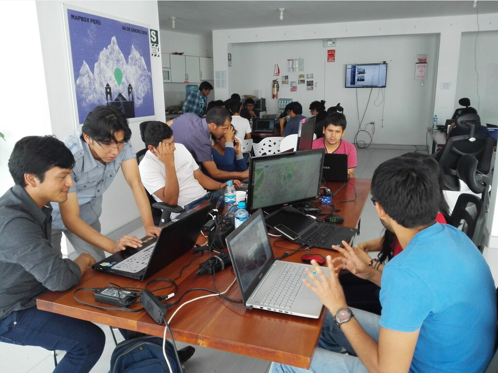 Mapping Party in Ayacucho