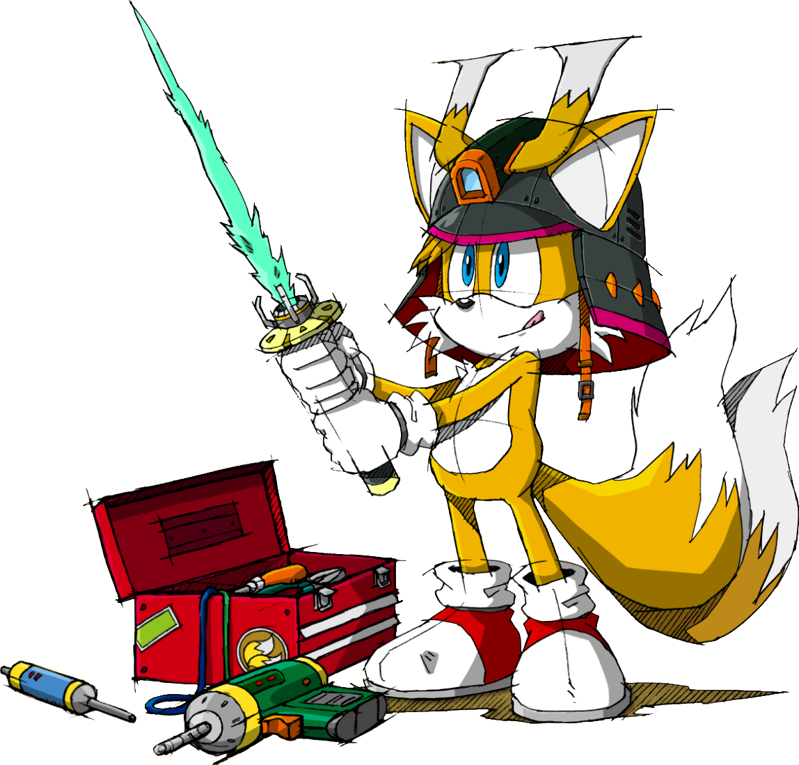 """Miles Tails Prower: [ MILES ELECTRIC ] : Miles """"Tails"""" Prower"""