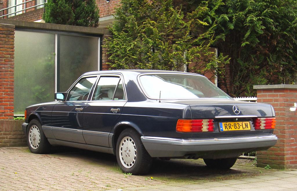 1987 mercedes benz 260 se w126 place benoordenhout for Mercedes benz 260