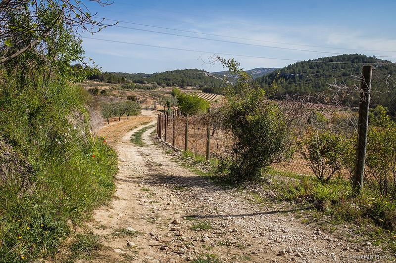 El Fondo de Cluca, detrás de Castellet