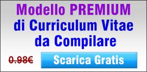 Modello Curriculum da Compilare