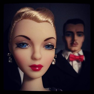 There are #dolls, and then.. there is #MelOdom's #Gene. For #365days project, with old #hollywood flare. 85/365.