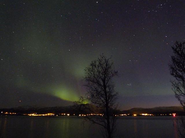 Auroras boreales fotografiadas en Noruega