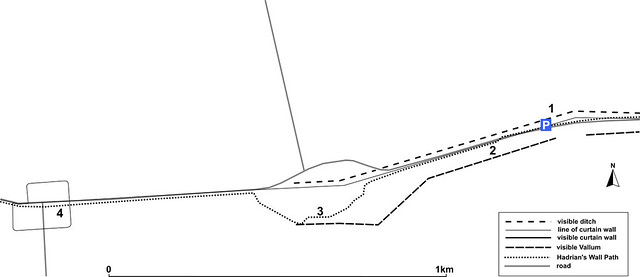 Carr Hill minor car park map
