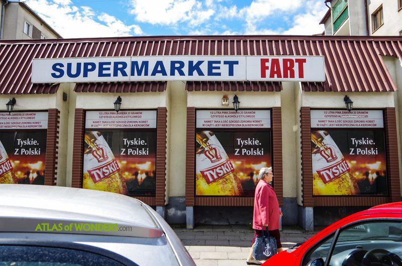 Supermarket Fart