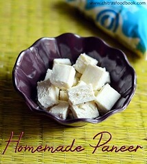 Home made Paneer Recipe