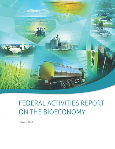 Federal Activities Report on the Bioeconomy page cover