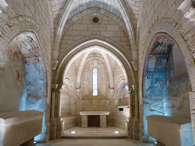 Capilla de San Pedro o del tesoro en el Monasterio de Valbuena (Valladolid)