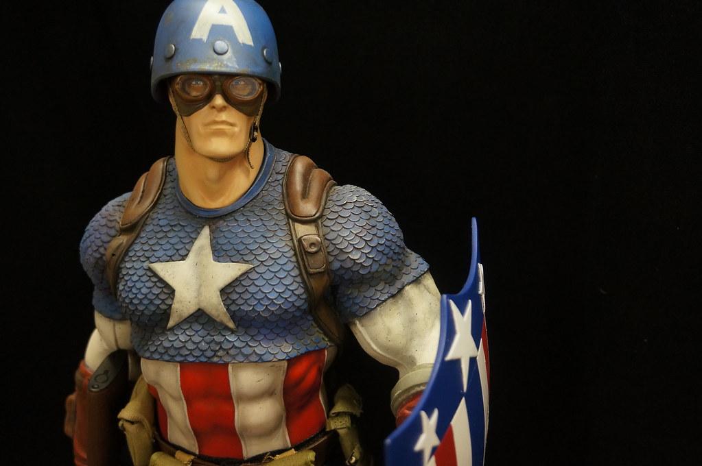 Custom Captain America Premium Format  24394407124_4e24a69d90_b