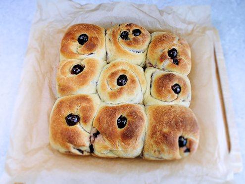 cherry buns