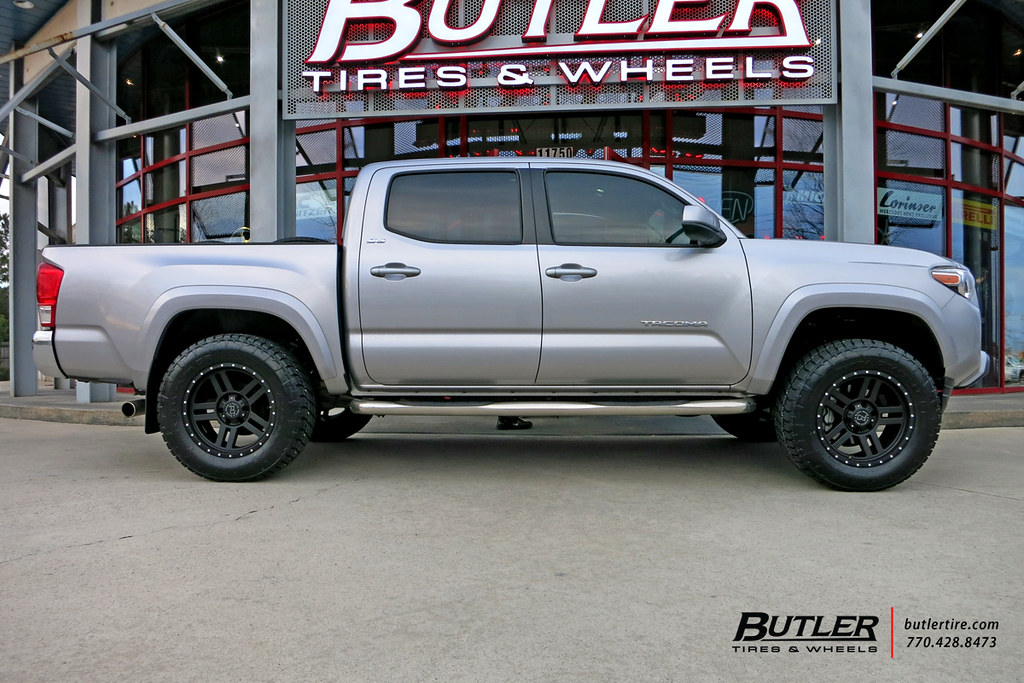 18 Inch Tires >> Toyota Tacoma with 18in Black Rhino Mojave Wheels and Nitt… | Flickr