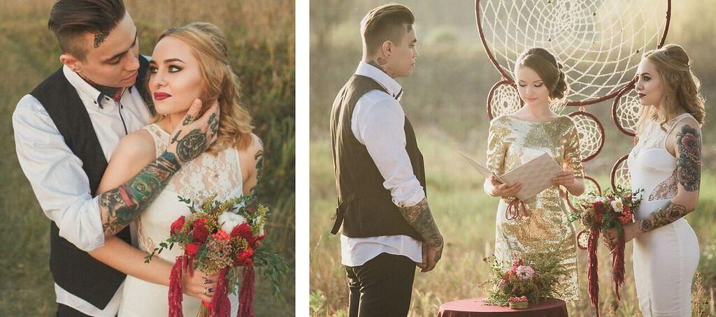 Порево невесты со всеми с кем придётся 4 фотография