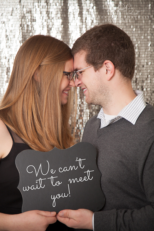 Holland PA Family Photographer  New Years Baby Announcement