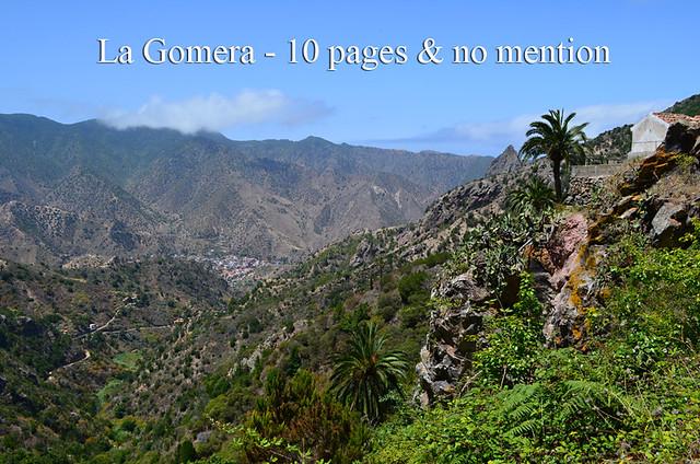 La Gomera no mention