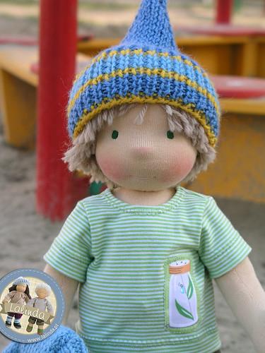 Robert - 14 inch waldorf boy doll