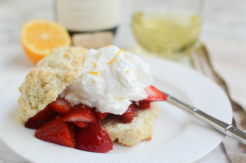 Meyer Lemon Strawberry Shortcakes - the perfect spring dessert!