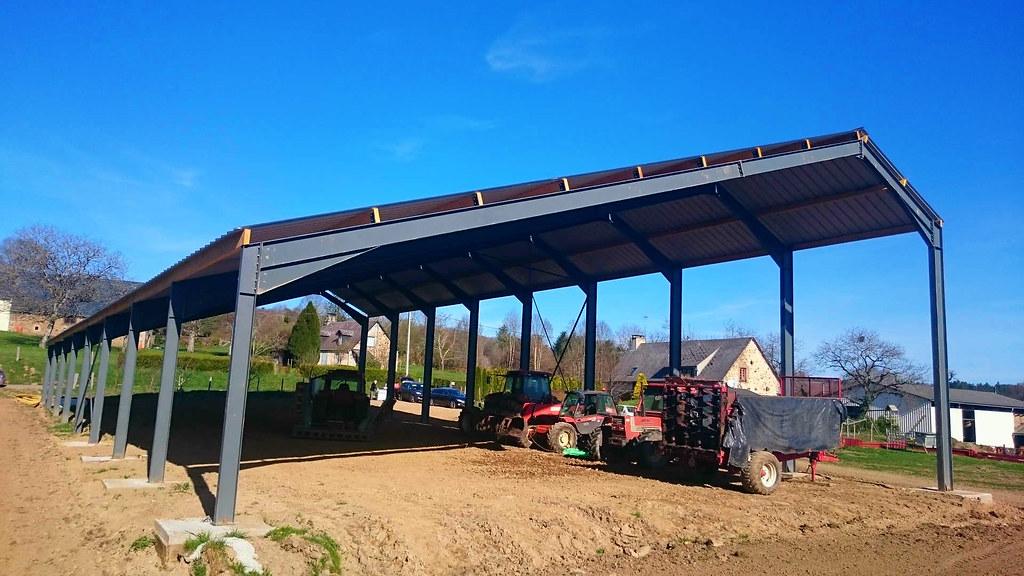 R3 hangar agricole photovolta que mise en place en corr ze flickr - Hangar photovoltaique agricole ...