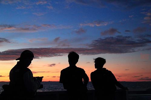 Sunrise di Perairan Belitung