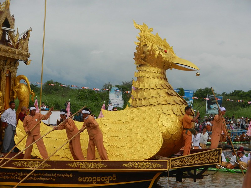 Инле, фестиваль Пхаунг До У