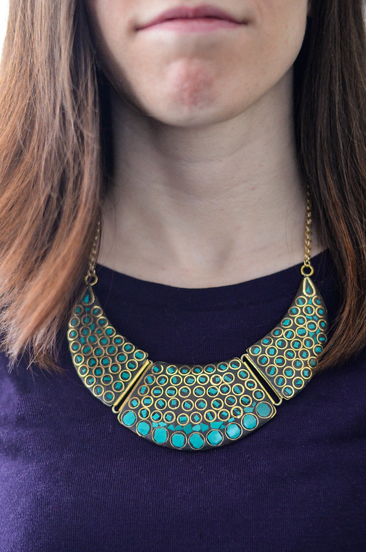 Fair Trade Necklace from Olive Branch Wexford | cookingalamel.com