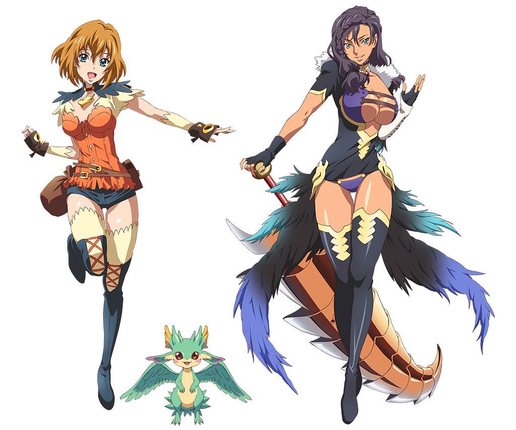 160210(3) - 女主角&寵物龍造型公開、「後藤圭二」監督4月奇幻動畫《エンドライド》發表第2批聲優!