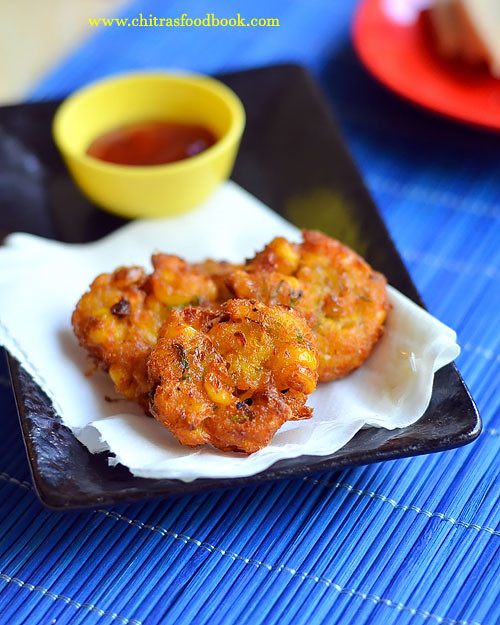 how to make sweet corn vada