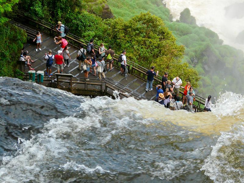 Iguazu circuit supérieur