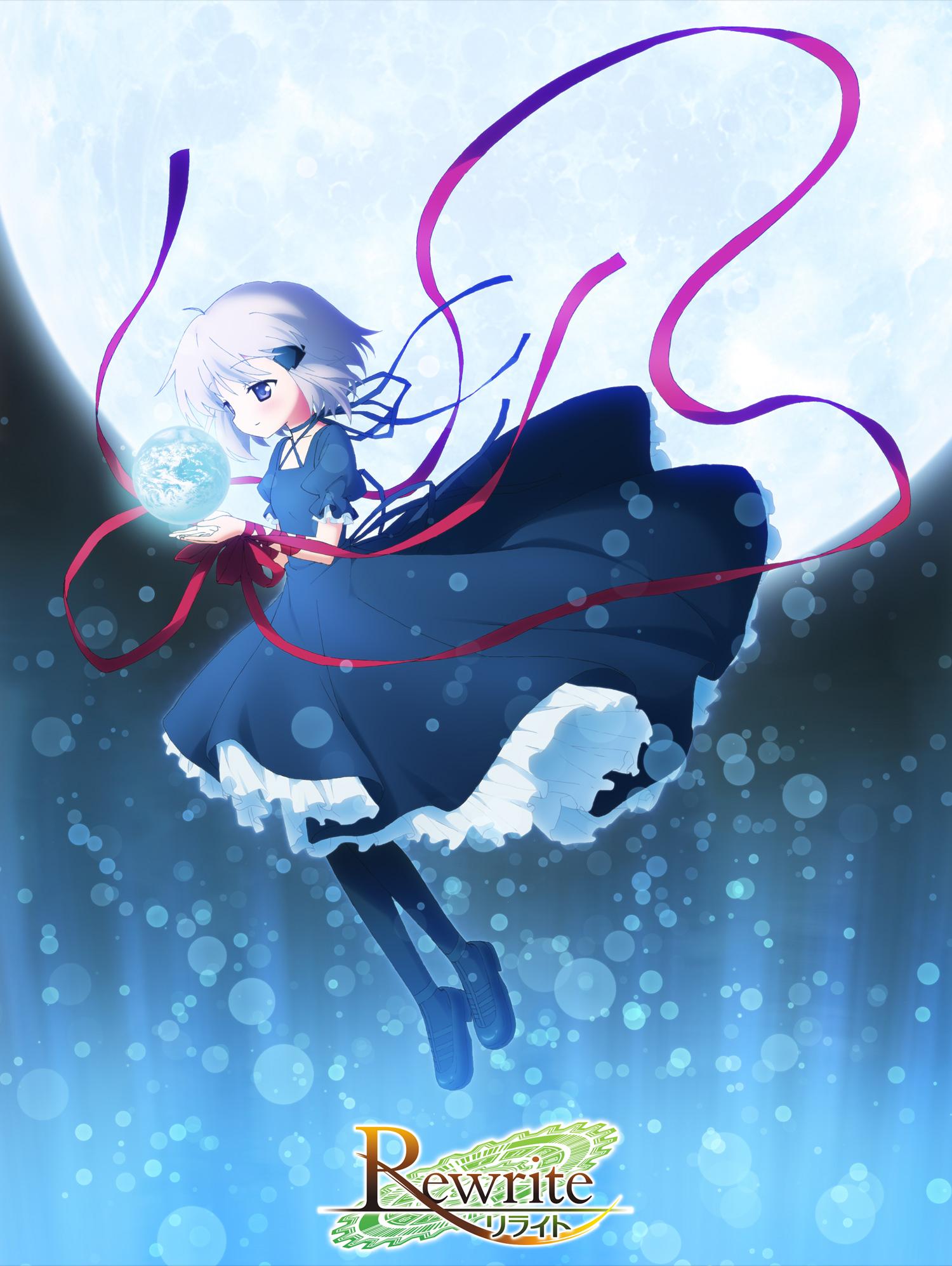 160403 - 夢幻美少女「篝」海報出爐!Key美少女遊戲動畫版《Rewrite》將在7月放送、PV第二彈公開!