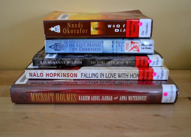 Library Reading Pile Jan 2016