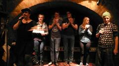 Sieger_innenfoto, textstrom Poetry Slam, Wien