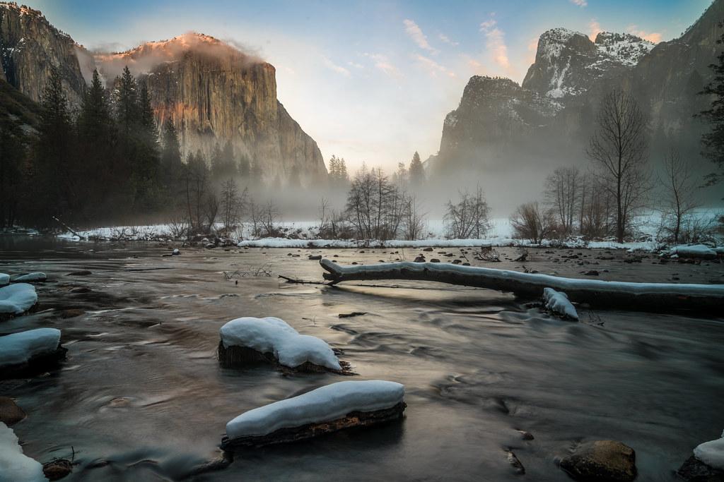 Yosemite Winter Fine Art Landscapes Sony A7rii Yosemite N