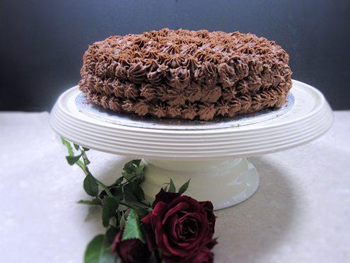 chocolate genoise cake