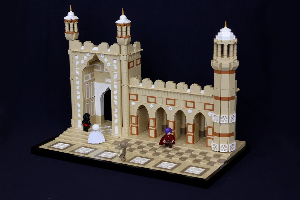 Badshahi Mosque Built With Lego Bricks The Brothers