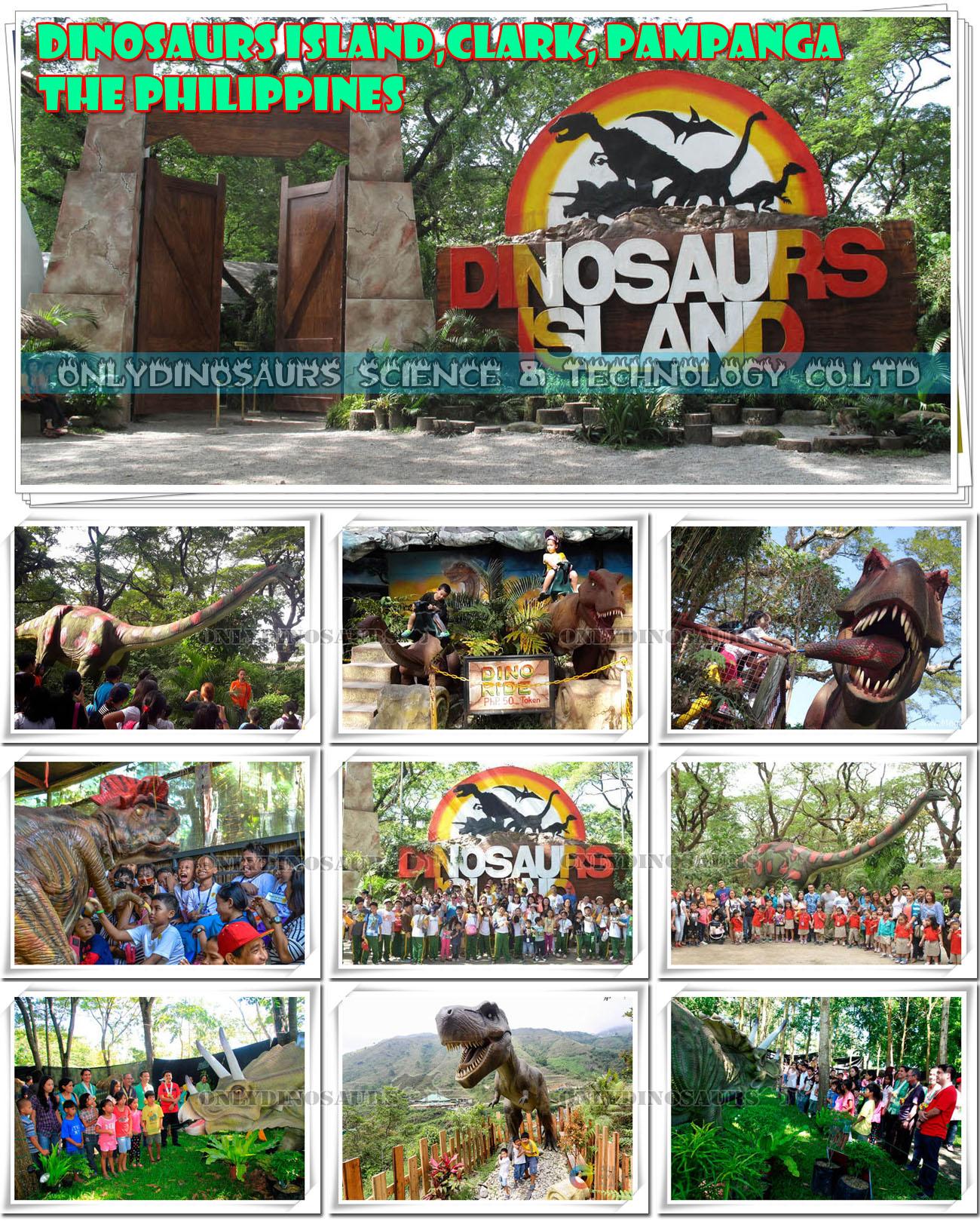 Dinosaurs Island in Philippines