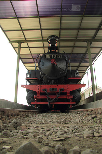 Lokomotif di Museum Kereta Api Ambarawa