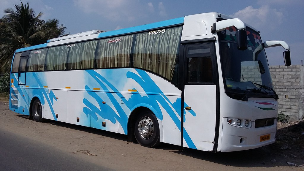 Rkk Travels Tn 25 Al 8046 B7r Volvo 2 2 Air Conditioned