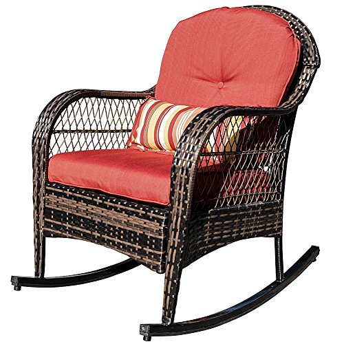 Cheap Wicker Chair: Cheap Sundale Outdoor Wicker Rocking Chair Rattan Outdoor