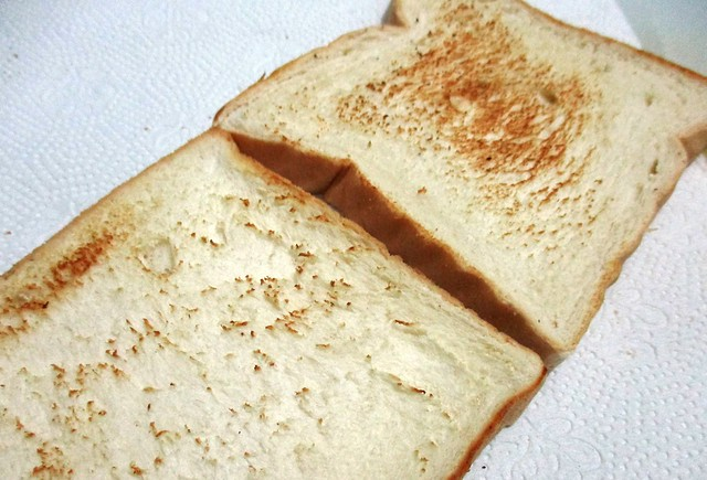 Bread, pan-toasted