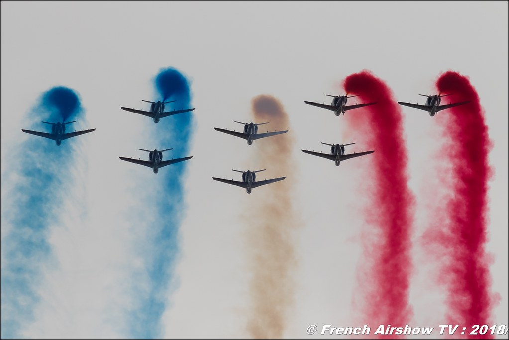 Patrouille de France 2018 , 32e édition d'Airexpo Muret-Lherm , Airexpo Muret 2018 , Canon EOS , Sigma France , contemporary lens , Meeting Aerien 2018