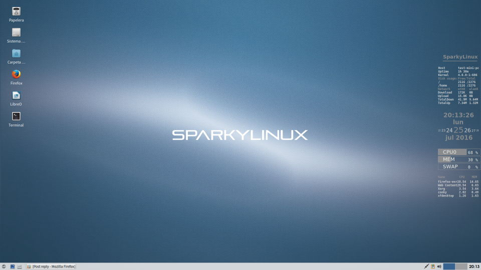 Sparkylinux-Slider