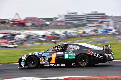 Carmen Boix, Nascar Whelen Euro Series, American SpeedFest VI, Brands Hatch 2018
