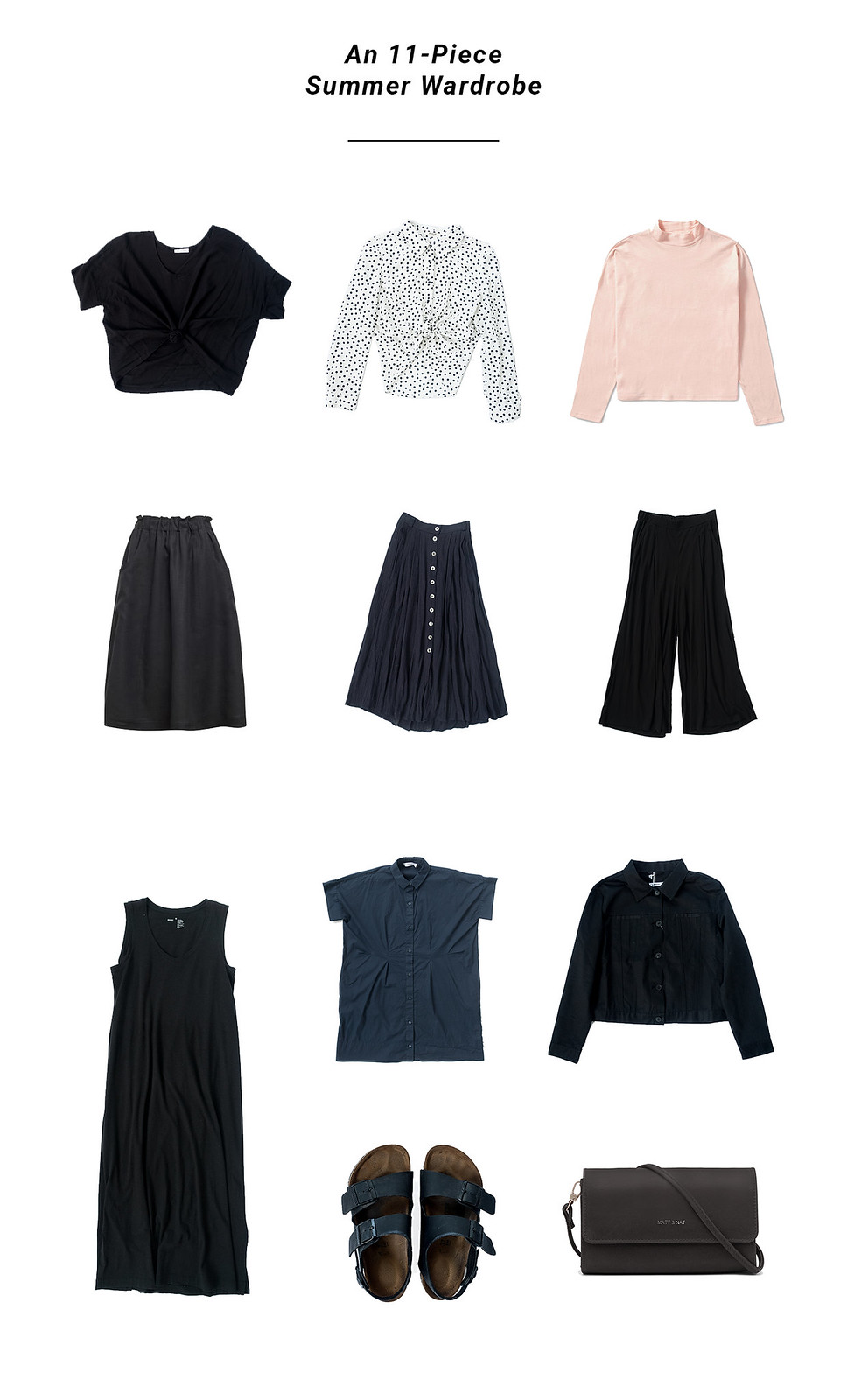 A Minimal Summer Wardrobe Capsule