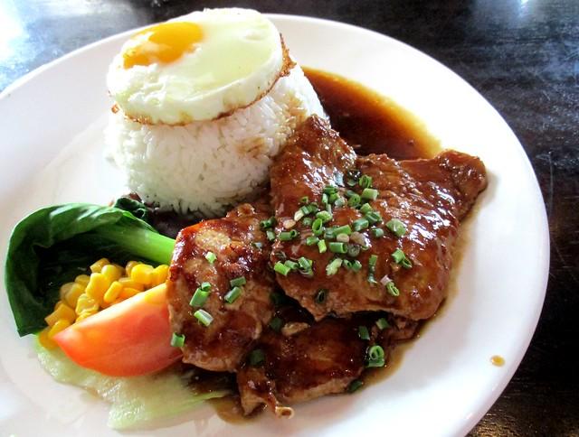 Le Cafe Hong Kong pork rice 2