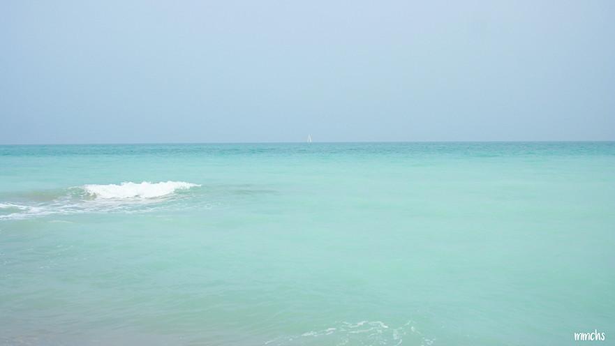 mar turquesa de Almenara