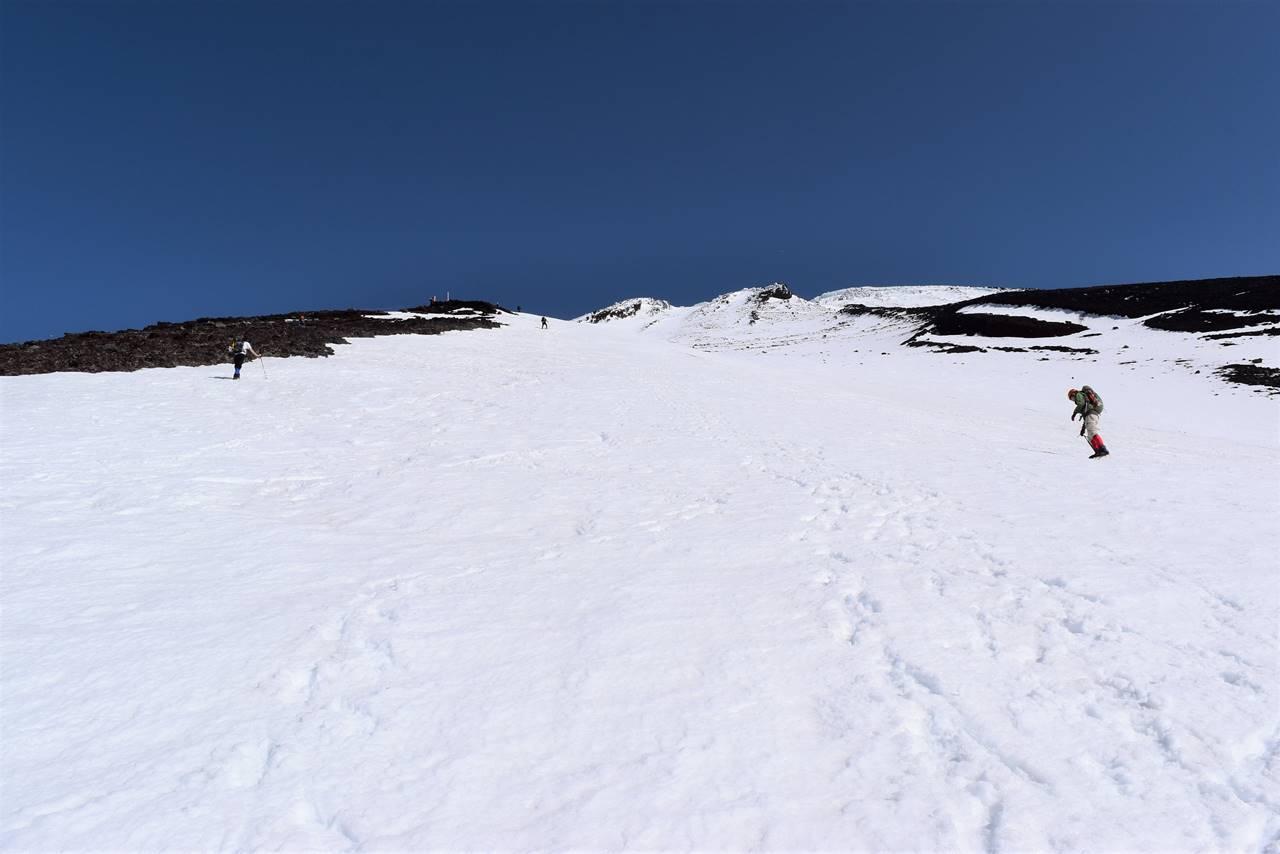 富士山雪山登山