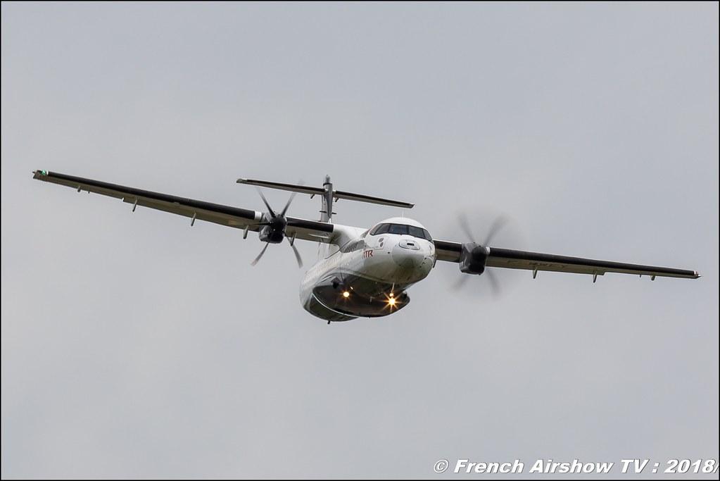ATR 72-600 , F-WWEY , 32e édition d'Airexpo Muret-Lherm , Airexpo Muret 2018 , Canon EOS , Sigma France , contemporary lens , Meeting Aerien 2018